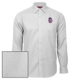 Red House White Diamond Dobby Long Sleeve Shirt-Duke Dog Head