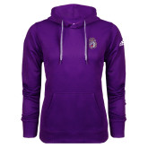 Adidas Climawarm Purple Team Issue Hoodie-Duke Dog Head