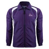 Colorblock Purple/White Wind Jacket-Duke Dog