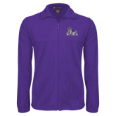 Fleece Full Zip Purple Jacket-Duke Dog