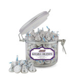 Kissable Creations Small Round Canister-Primary Logo