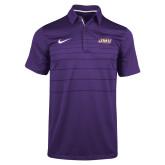 NIKE Purple Sideline Early Season Polo-