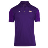 NIKE Purple Sideline Team Issue Polo-