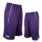 NIKE Purple Sideline Fly XL 5.0 Short-