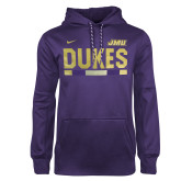 NIKE Purple Sideline Therma PO Hoody-