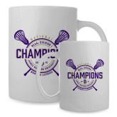 Full Color White Mug 15oz-2018 Womens Lacrosse National Championship #1