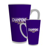 Full Color Latte Mug 17oz-2018 Womens Lacrosse National Championship #2