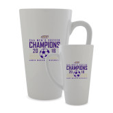 Full Color Latte Mug 17oz-2018 CAA Mens Soccer Champions