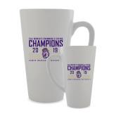 Full Color Latte Mug 17oz-2019 Womens Swimming & Diving Champions