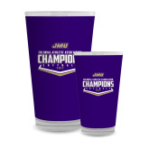 Full Color Glass 17oz-CAA 2017 Softball Champions
