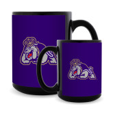 Full Color Black Mug 15oz-Duke Dog