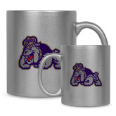 Full Color Silver Metallic Mug 11oz-Duke Dog