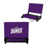 Stadium Chair Purple-Dukes Slanted