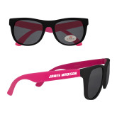 Black/Hot Pink Sunglasses-James Madison