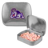 Silver Rectangular Peppermint Tin-Duke Dog