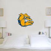 2 ft x 2 ft Fan WallSkinz-Jarvis Chrsitian College Bulldogs w/ Major Stacked