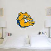 3 ft x 3 ft Fan WallSkinz-Jarvis Chrsitian College Bulldogs w/ Major Stacked