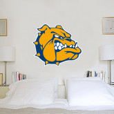 4 ft x 4 ft Fan WallSkinz-Jarvis Chrsitian College Bulldogs w/ Major Stacked