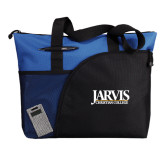 Excel Royal Sport Utility Tote-Jarvis Christian College - Institutional Mark