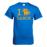 Royal T Shirt-I Love Dance Design