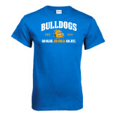 Royal T Shirt-Go Blue . Go Gold . Go JCC