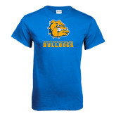 Royal T Shirt-Jarvis Chrsitian College Bulldogs w/ Major Stacked