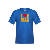 Youth Royal T Shirt-I Heart My HBCU Jarvis