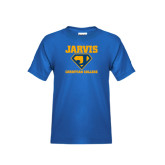 Youth Royal T Shirt-Super J