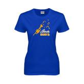 Ladies Royal T Shirt-Band Design