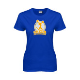Ladies Royal T Shirt-Cheer Design