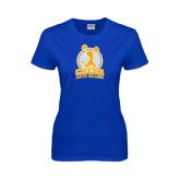 Ladies Royal T Shirt-Cheer Design