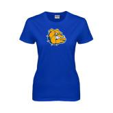 Ladies Royal T Shirt-Major - Bulldog Head