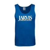 Royal Tank Top-Jarvis Christian College - Institutional Mark