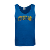 Royal Tank Top-Arched Jarvis Christian College Bulldogs