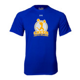 Under Armour Royal Tech Tee-Cheer Design