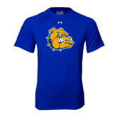 Under Armour Royal Tech Tee-Major - Bulldog Head
