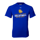 Under Armour Royal Tech Tee-Can You Dig It - Volleyball Design