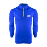 Under Armour Royal Tech 1/4 Zip Performance Shirt-Jarvis Christian College - Institutional Mark