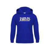 Youth Royal Fleece Hoodie-Jarvis Christian College - Institutional Mark