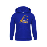 Youth Royal Fleece Hoodie-Band Design
