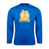 Syntrel Performance Royal Longsleeve Shirt-Cheer Design