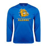 Syntrel Performance Royal Longsleeve Shirt-Alumni