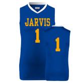 Replica Royal Adult Basketball Jersey-#1