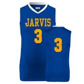 Replica Royal Adult Basketball Jersey-#3