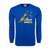 Royal Long Sleeve T Shirt-Band Design