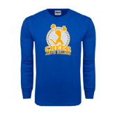 Royal Long Sleeve T Shirt-Cheer Design