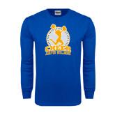 Royal Long Sleeve T Shirt-Cheer Design
