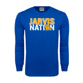 Royal Long Sleeve T Shirt-Jarvis Nation