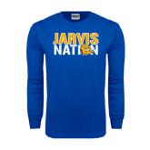Royal Long Sleeve T Shirt-Jarvis Nation
