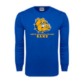 Royal Long Sleeve T Shirt-Band